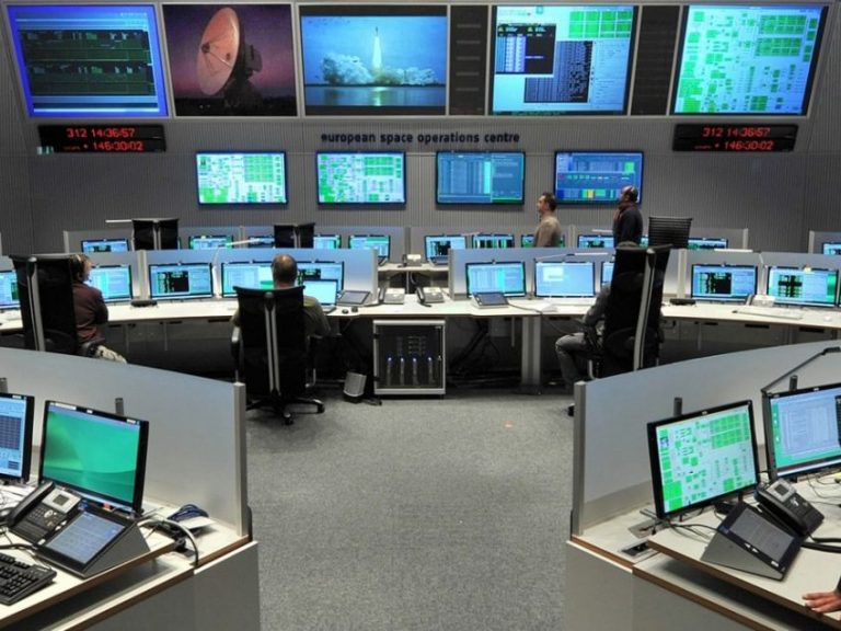 ESOC control room 0