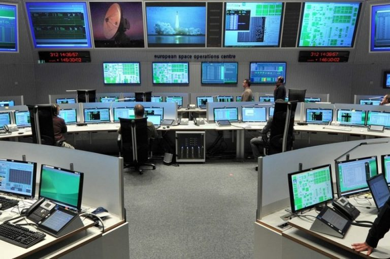 The control room at ESOC