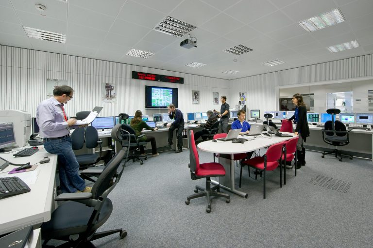 The LISA Pathfinder Dedicated Control Room is located at ESOC, ESA's European Space Operations Centre, Darmstadt, Germany. Image copyright: ESA/J. Mai