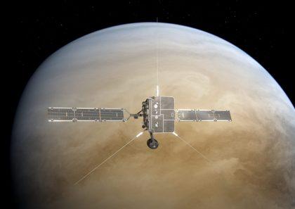 Solar Orbiter Venus flyby. Image copyright: ESA/ATG medialab