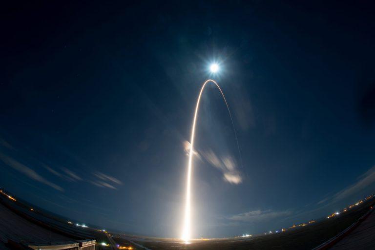 Solar Orbiter liftoff. Image copyright: ESA - S. Corvaja