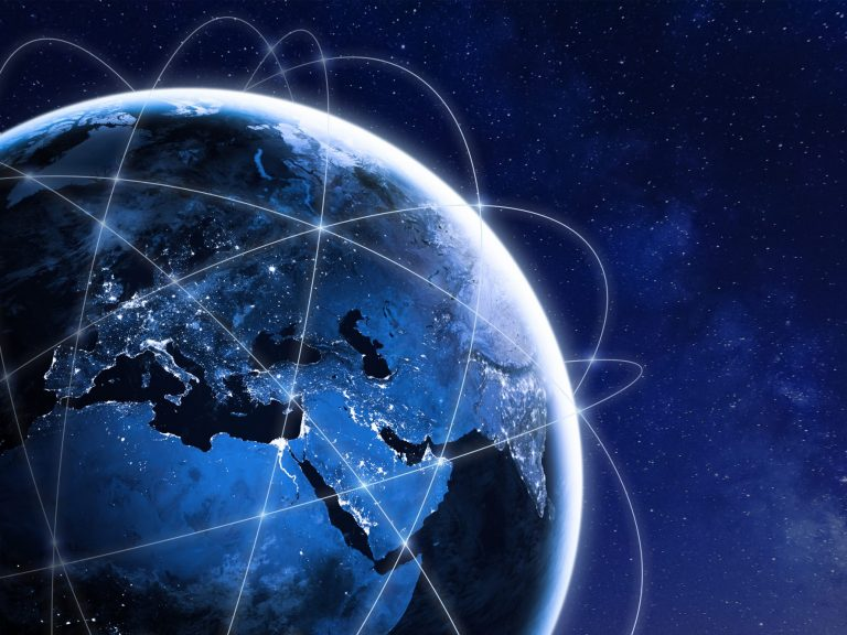 Global connectivity around the Earth