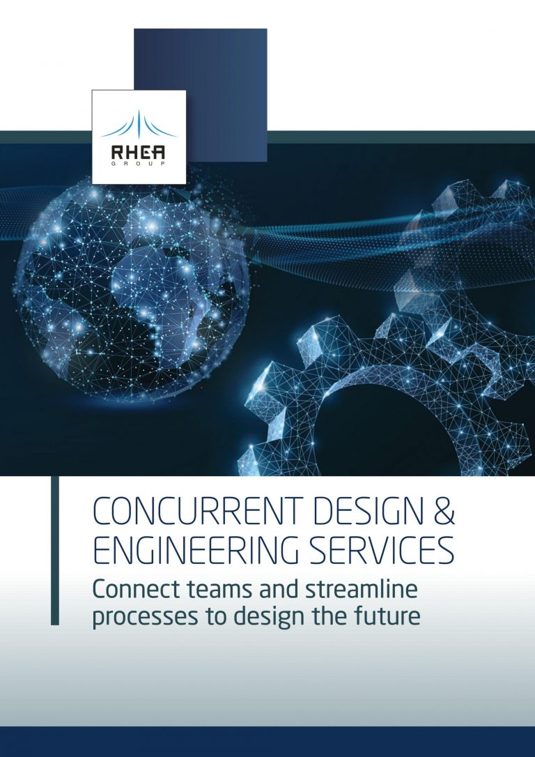 RHEA Concurrent Design and Engineering Services brochure front cover