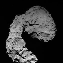 OSIRIS wide-angle camera image. Image copyright: ESA/Rosetta/MPS for OSIRIS Team MPS/UPD/LAM/IAA/SSO/INTA/UPM/DASP/IDA