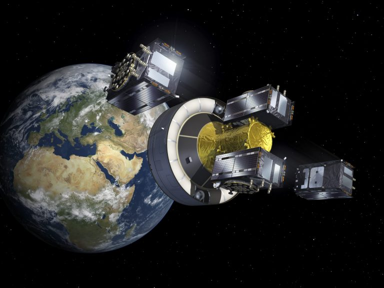 Galileo, Europe's global navigation system, uses MOIS. Image copyright:
