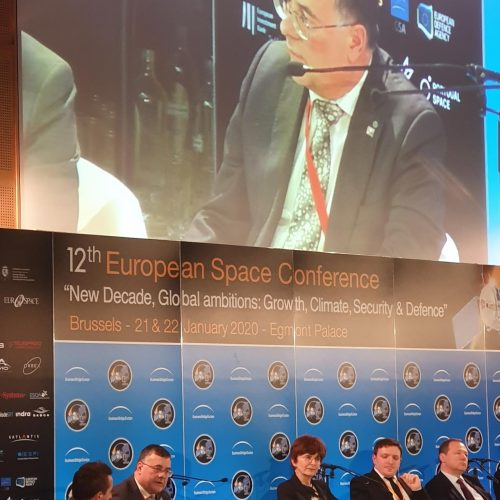 Rob Mazzolin at EU Space Conference 2020