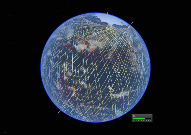 Copernicus Sentinel 6 orbits