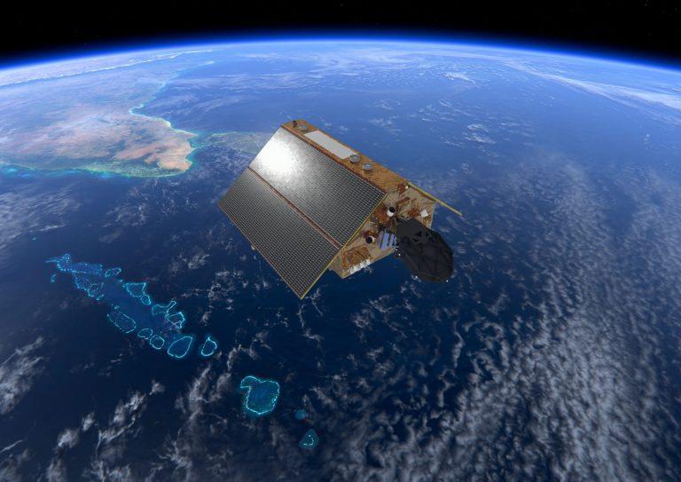 Copernicus Sentinel 6 over the Maldives