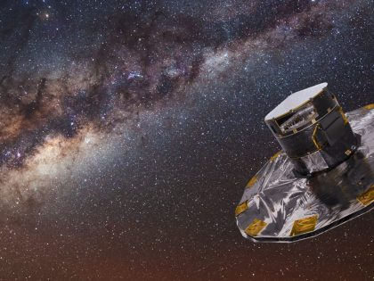 Gaia mapping the stars of the Milky Way crop