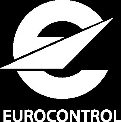 EUROCONTROL logo mono white