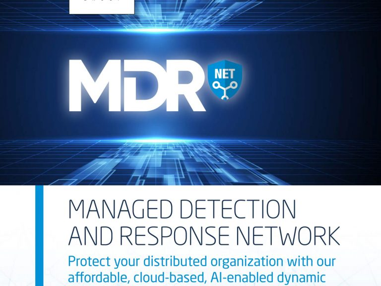 RHEA Group MDR Net brochure in English - cover image