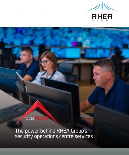 RHEA Group rapidPHIRE brochure EN cover