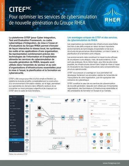 RHEA Group CITEF factsheet covr
