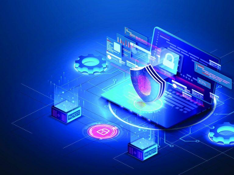 RHEA Group cyber range illustration