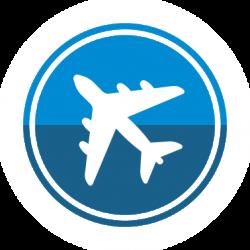 RHEA Group aircraft flight icon