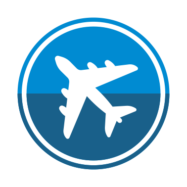 RHEA Group Aircraft Flight Icon