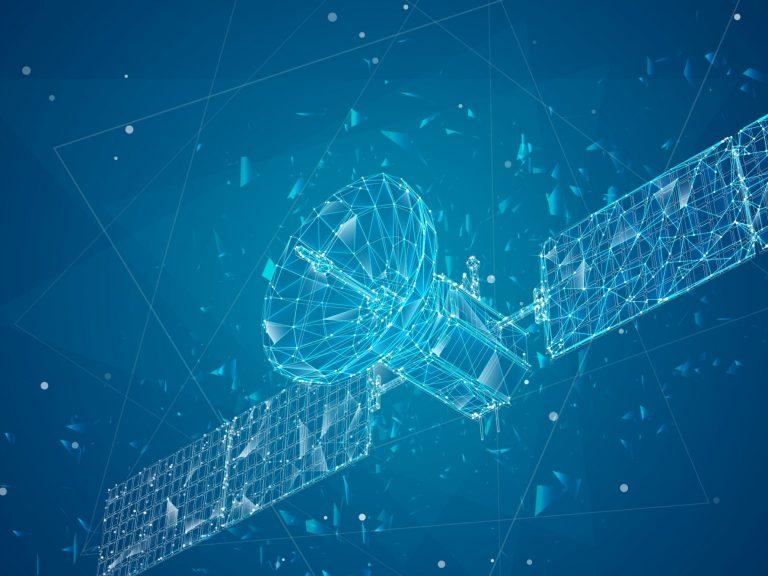 Résumé communications satellite représentant ingénierie des systèmes spatiaux