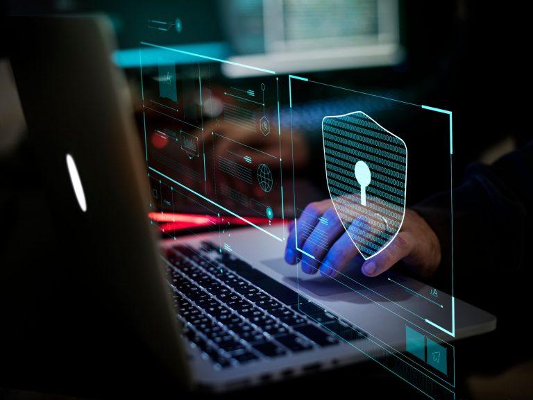 La sécurité digitale sur un ordinateur portable