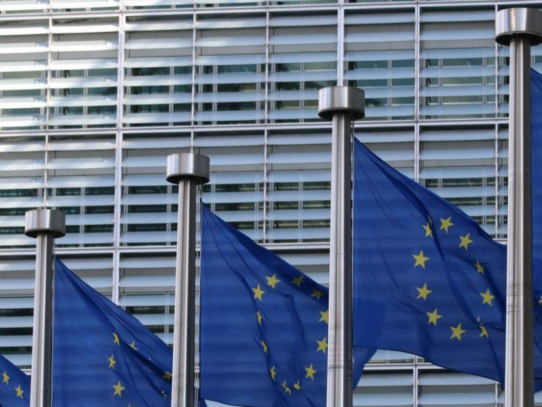 Drapeaux du Parlement européen
