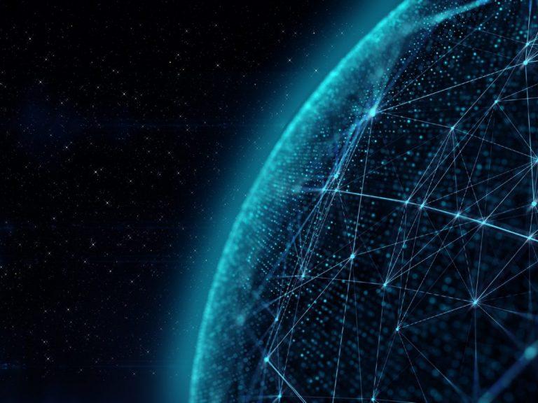 Partie du globe illustrant le big data et l'analytique