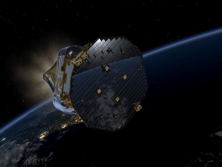 LISA Pathfinder in low Earth orbit. Image copyright: ESA/ATG medialab