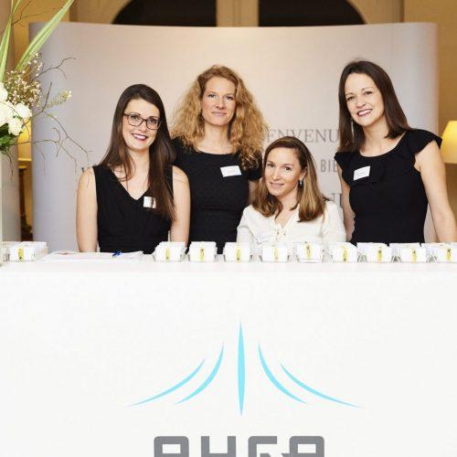RHEA Group Admin team at the RHEA Cocktail Event 2020 in Belgium