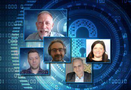 RHEA Talk sur la formation à la cybersécurité montrant des intervenants