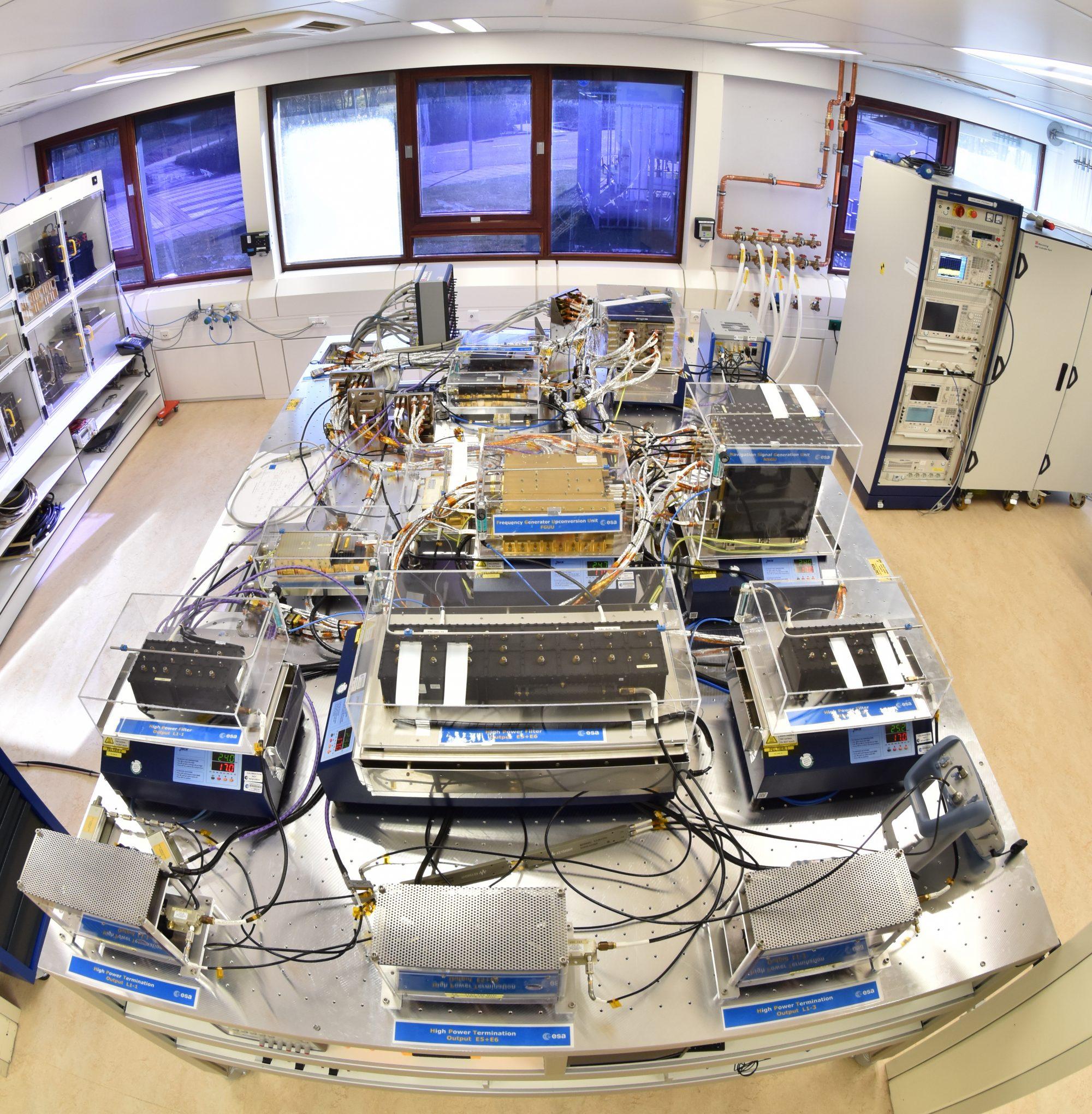 ESTEC's Galileo Payload Testbed Facility