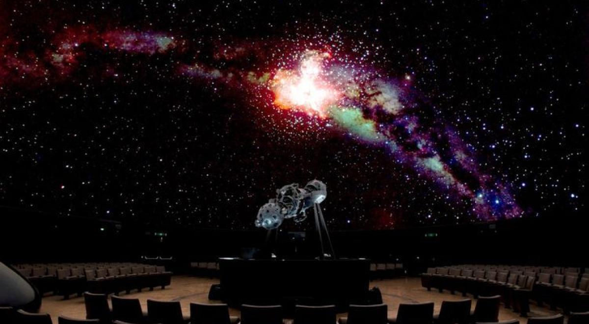 Le planétarium de l'Observatoire royal de Belgique
