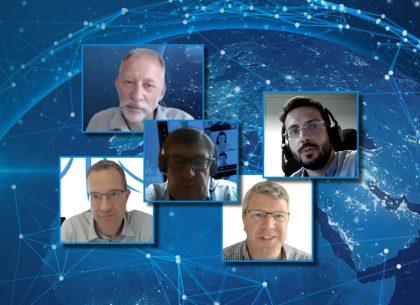 RHEA Talk on commercial space - speaker photos