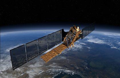 Copernicus Sentinel 1 satellite - image copyright ESA ETG medialab