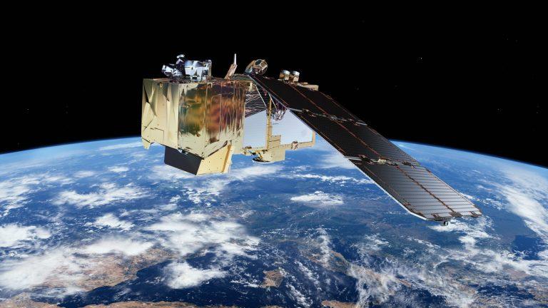 Copernicus Sentinel 2 satellite - image copyright ESA / ATG medialab