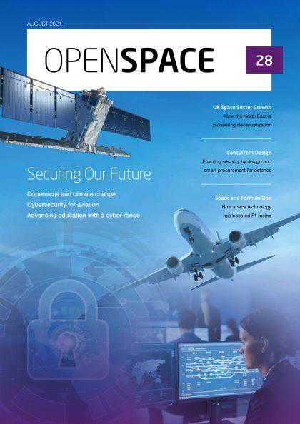 RHEA Group OpenSpace 28 magazine cover English