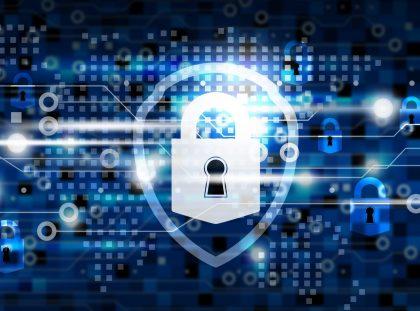 security padlock graphic image