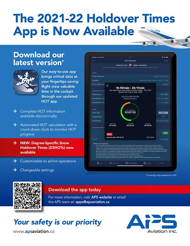 APS HOT app 2021-22 flyer in English